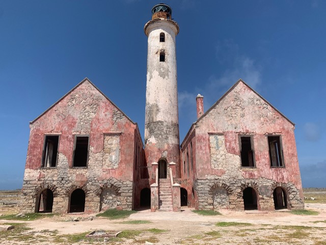 Vuurtoren, Klein Curaçao.