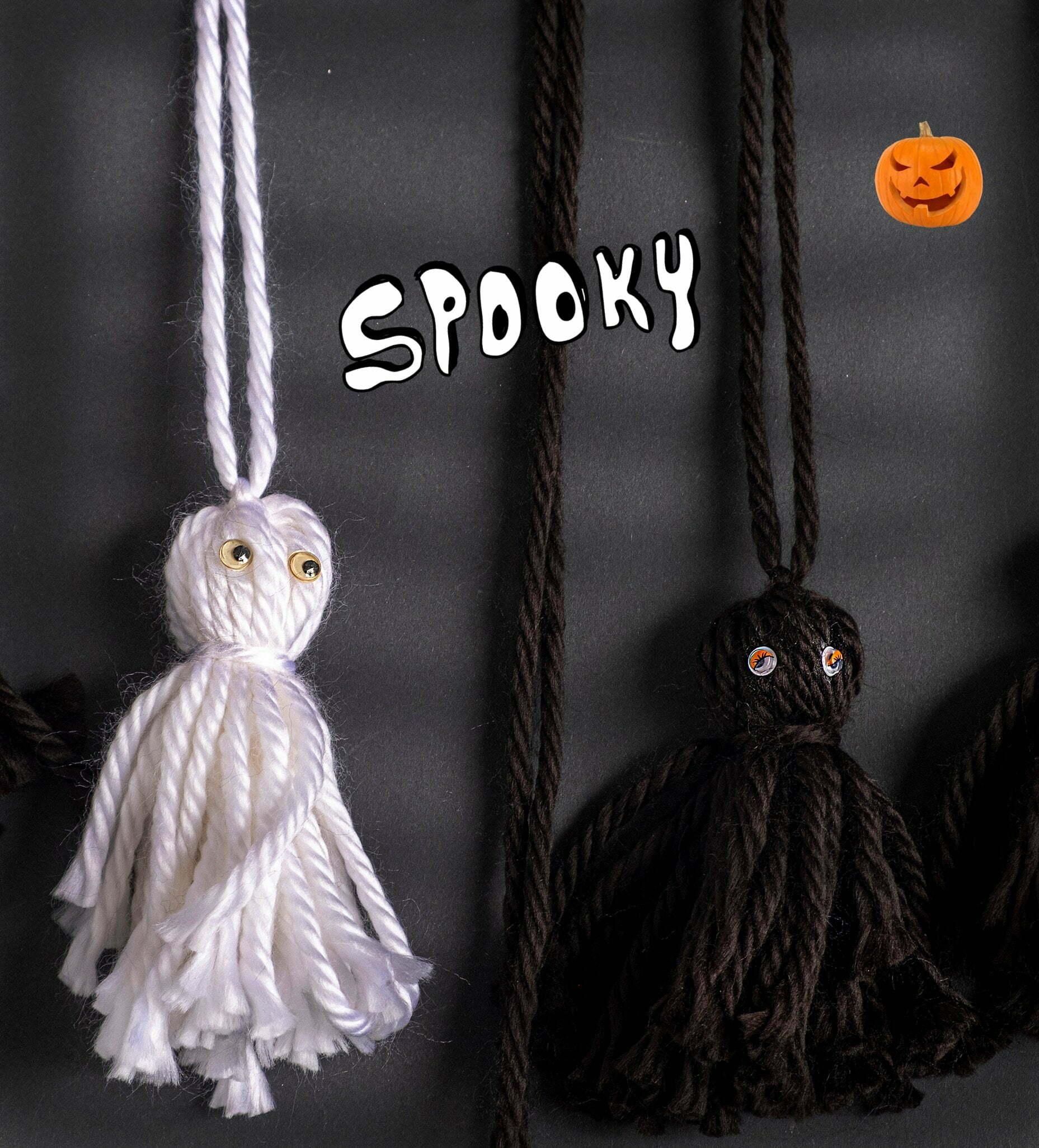 Diy: wol spookjes