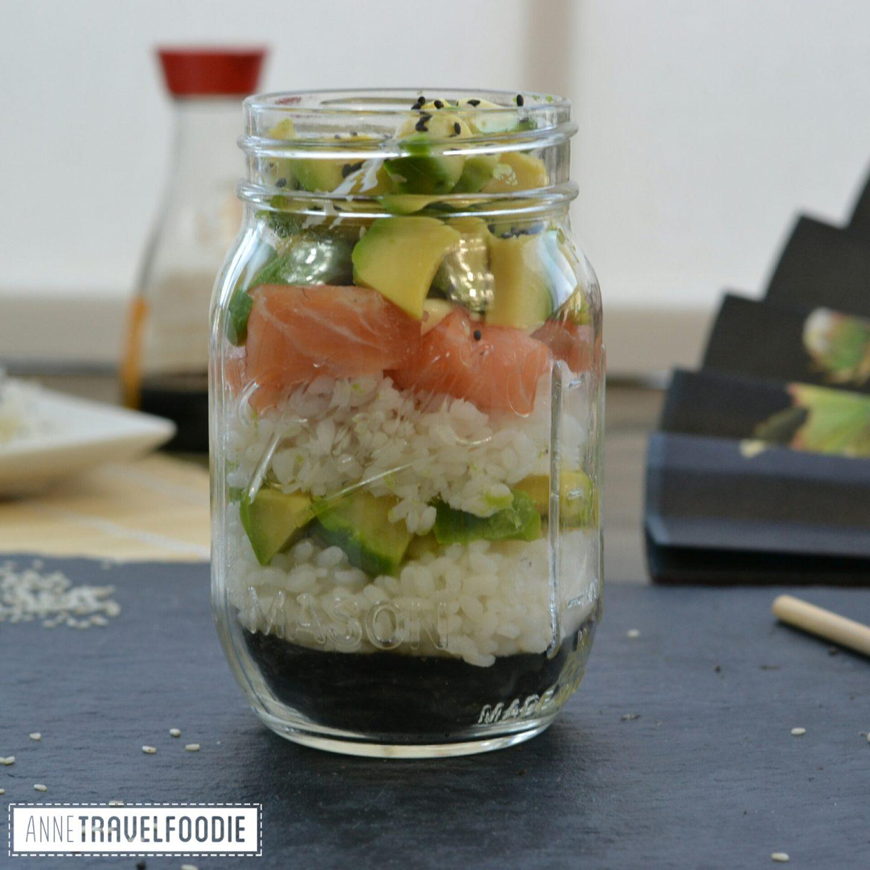 Annetravelfoodie: Sushi jar⇐Recept